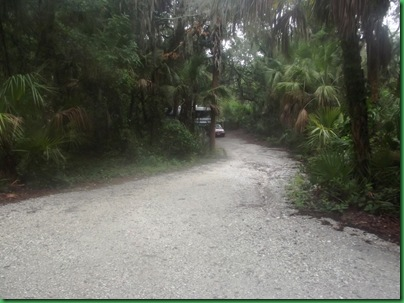 Driveway to site 40 Lithia Springs