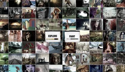 psykopaint online painting app
