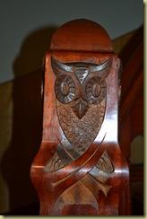 Alesund Art Nouveau Staircase Owl