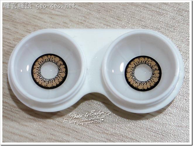 ( 3 ) 品牌:GEO隱形眼鏡 CM-834天使金咖