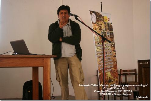 Orlando Chura M. -Consultor Proyecto MP1717 09-RM