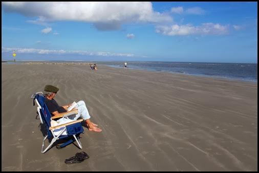 At the beach 002