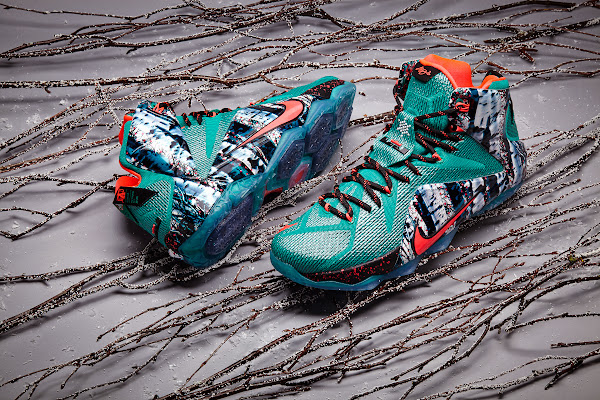 Nike Basketball Presents Christmas Pack with LeBron 12 8220Akron Birch8221