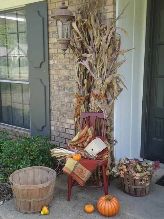 corner cornstalk