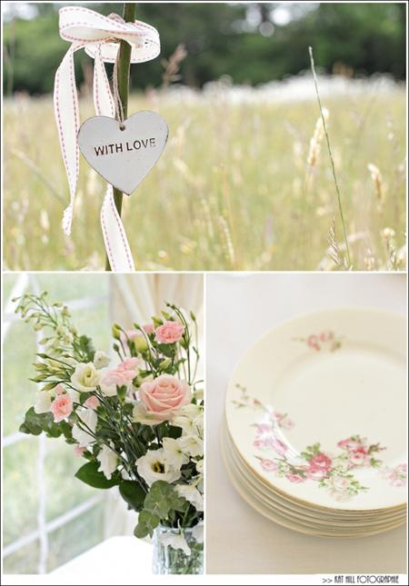 Semplicemente Perfetto Vintage Tea Party Wedding 07