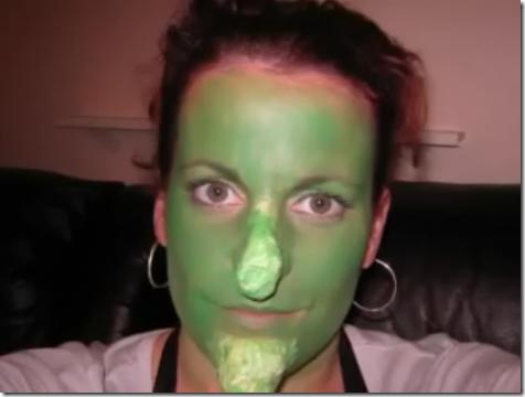 maquillaje de bruja disfrazcasero