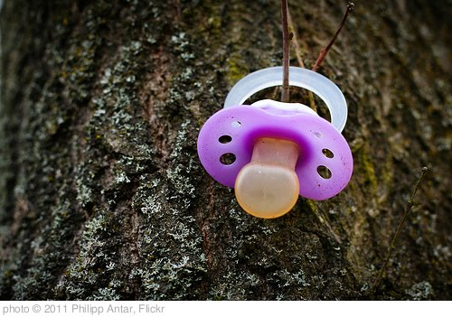 'Pacifier anyone?' photo (c) 2011, Philipp Antar - license: http://creativecommons.org/licenses/by/2.0/