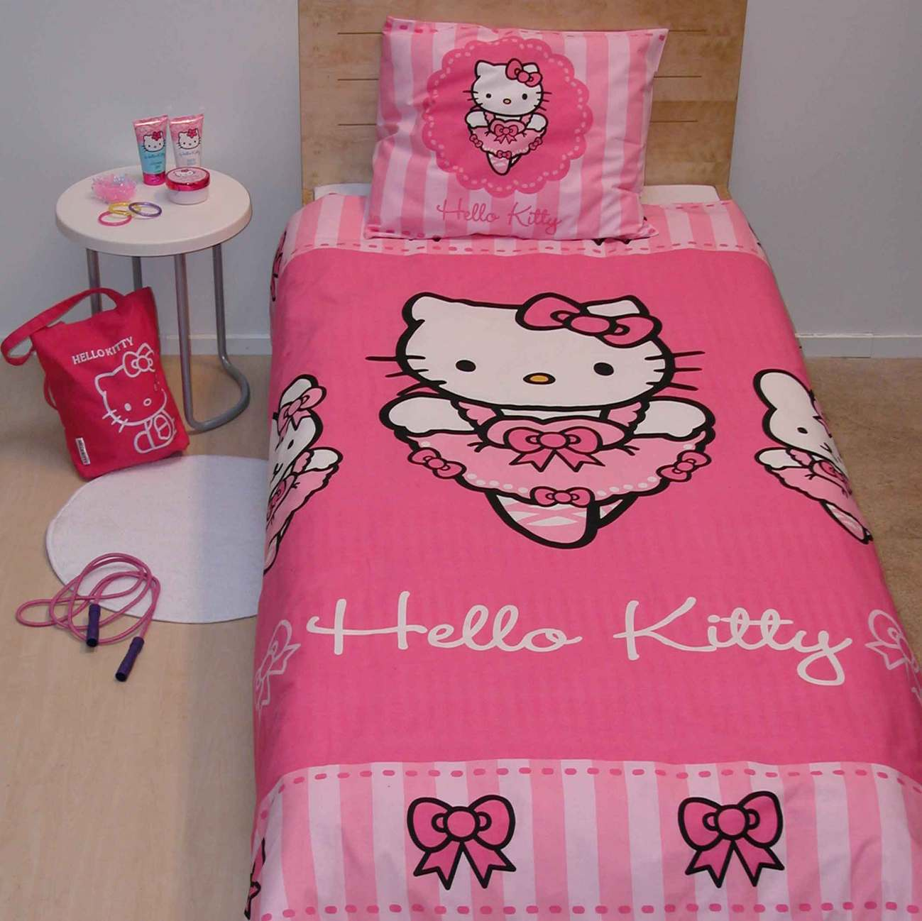 housse couette hello kitty pas cher. Black Bedroom Furniture Sets. Home Design Ideas
