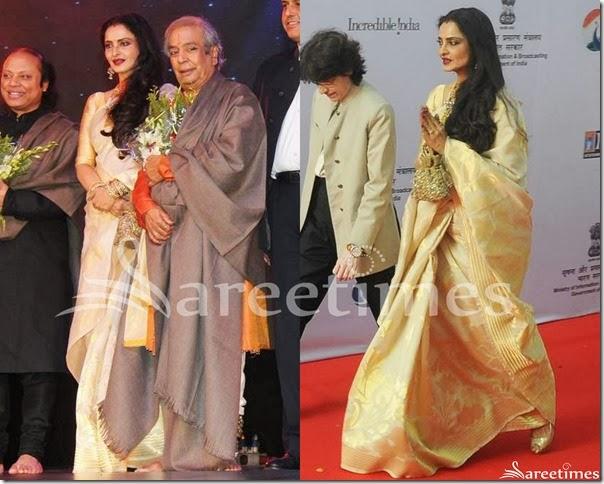 Rekha_Cream_Traditional_Silk_Saree