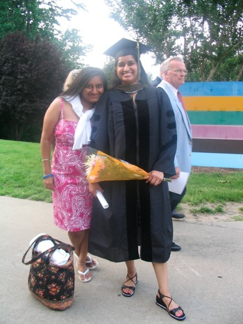 Dhruvi at Graduation 018