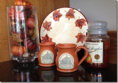 Mugs from Garth Mansion