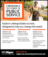 View Undergraduate Public Service Courses for  Spring 2013