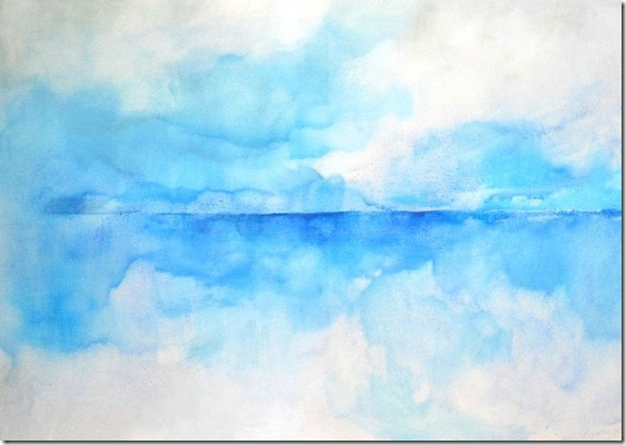 Genoa seascape-Sergio-Aiello-ENKAUSTIKOS