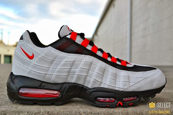 TBT LeBron James8217 Nike Air Max 95 Player Exclusive New Logo