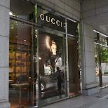 gucci store in Harajuku in Roppongi, Tokyo, Japan