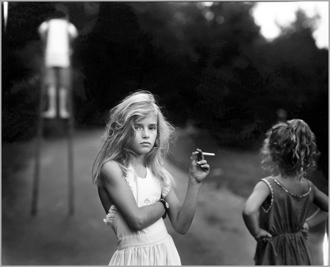sally_mann_at_twelve_Candy_Cigarette