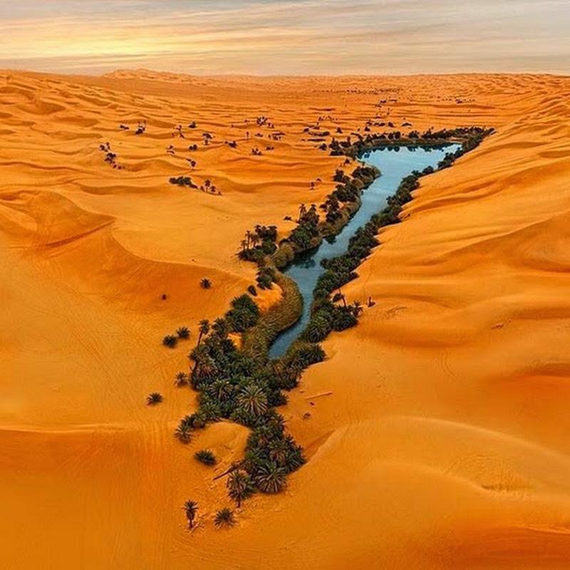 The Lakes of Ubari Sand Sea