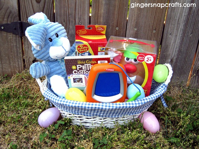 Ginger snap crafts build a basket on a budget challenge kmart easter basket negle Gallery