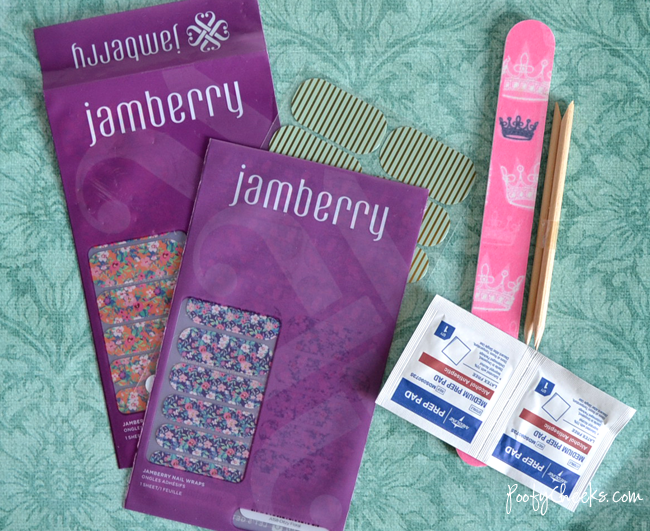 Step by Step Instructions for properly applying Jamberry Nail wraps.
