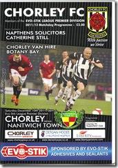 Chorley vs Nant prog