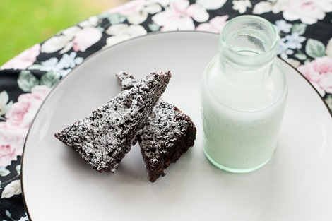 5 Minute Microwave Fudge Brownie by Kenrick Rhys Photography