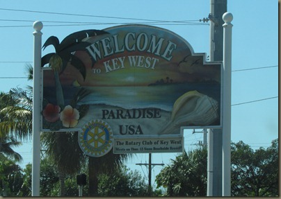 key west sign