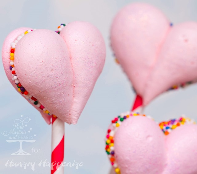 Meringue Hearts Pops-87HH