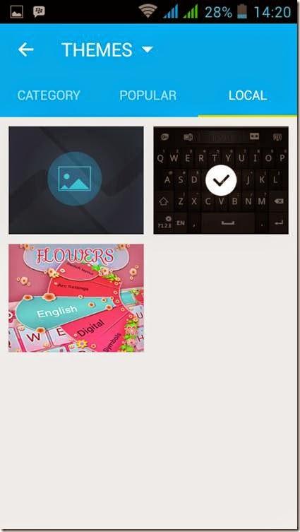 cara mengganti theme pada keyboard hp android