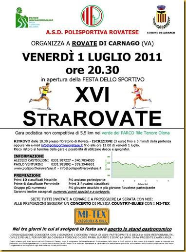 2011.07.01 XVI StraRovate, Rovate