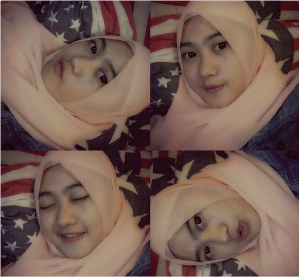 Mau share foto cewek jilbab yang menurut kami mempunyai wajah yang cantik.