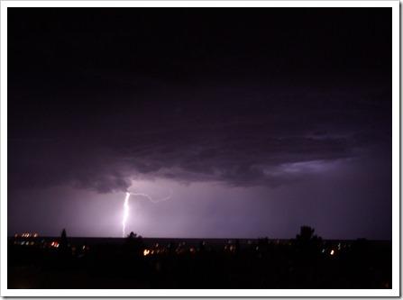 July Lightning Storm