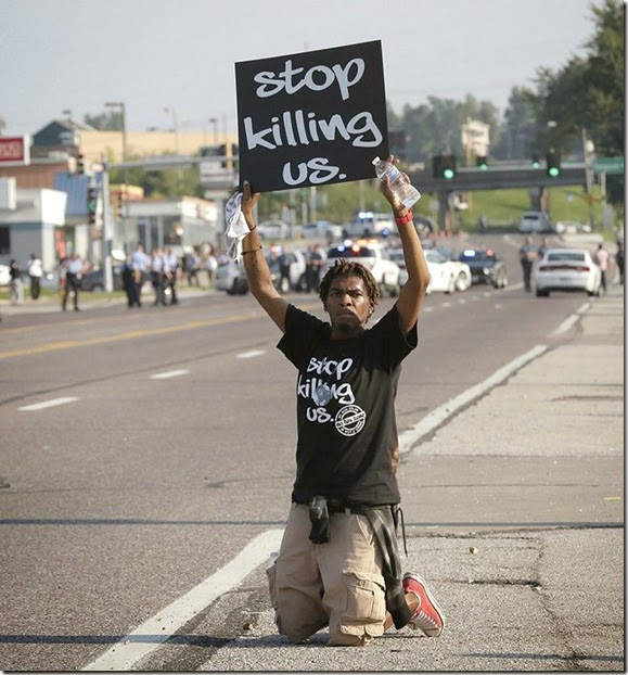 STOP KILLING US - MICHAEL BROWN 2014 - Angola Xyami