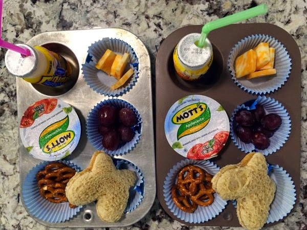 Muffin Tin Meal-PB&J