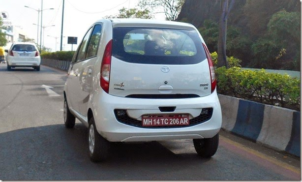 Tata-Nano-Twist-Active-F-Tronic-XTA-variant-rear-spied