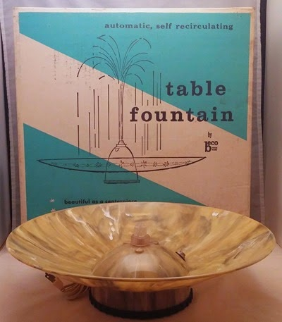 Beco self recirculating table fountain