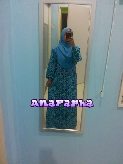 dress empire cut jubah