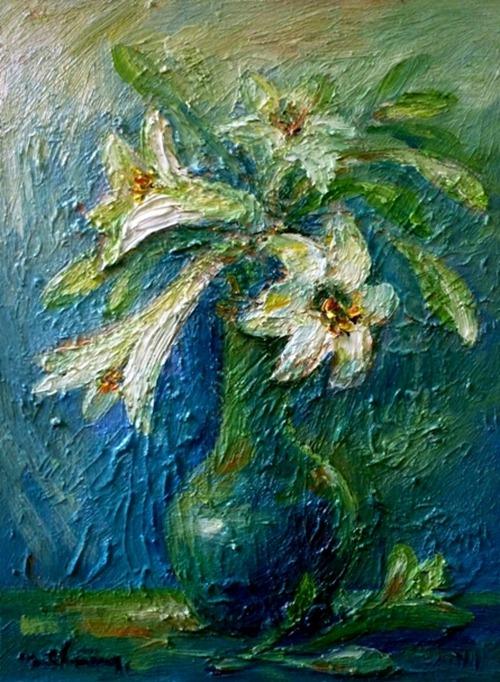 tranh son dau cua hoa si nhuan thuong 8