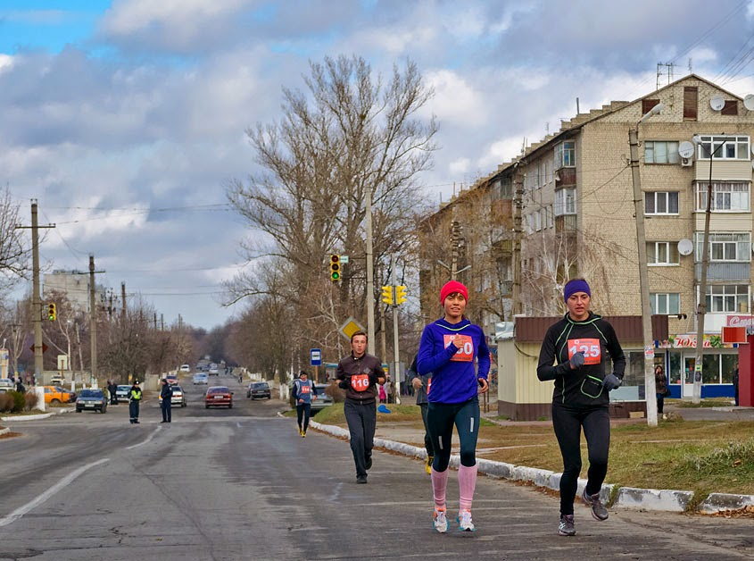 Фотографии Балаклея 2014. Легкоатлетический пробег, посвященный памяти маршала Г.К. Жукова