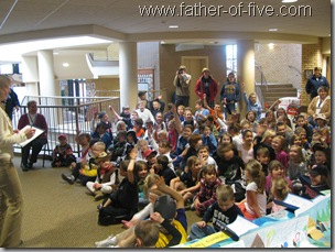 Time Capsule opening - St. John the Baptist School - Jordan, Mn
