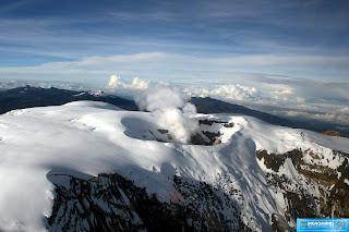 Colombia, Nevados: Nevado del Ruiz (5.321 m)