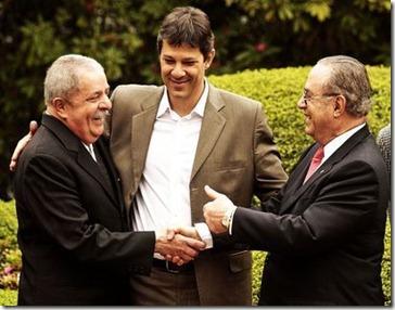 Lula com Maluf