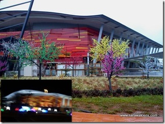 Kuching_Sentral_light_trees_Sarawaklens
