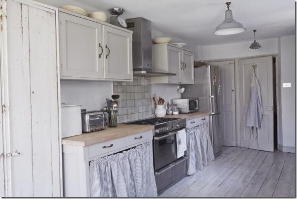 Piccoli spazi casa estiva in giardino case e interni - Cucine di campagna ...