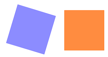 quadrati sovrapposti