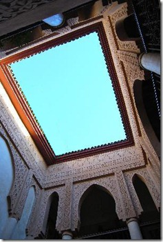 Riad_Laksiba-open-air-courtyard_Marrakech