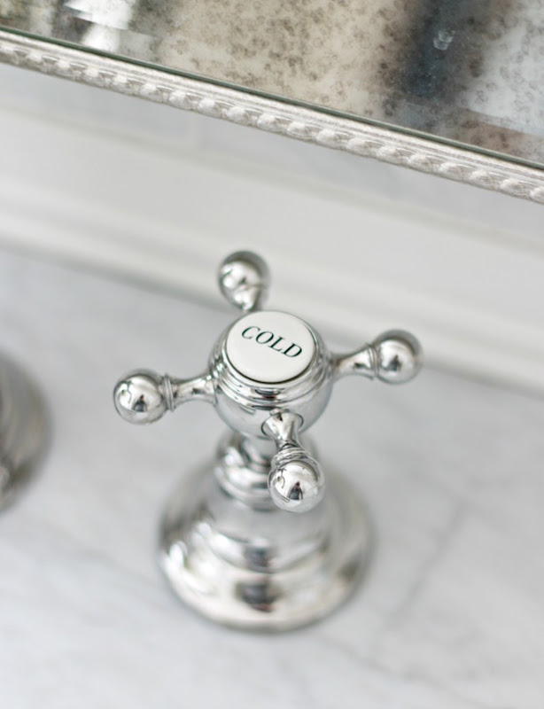Bathroom Faucets That Say Hot And Cold children's bathroom reveal - a thoughtful place