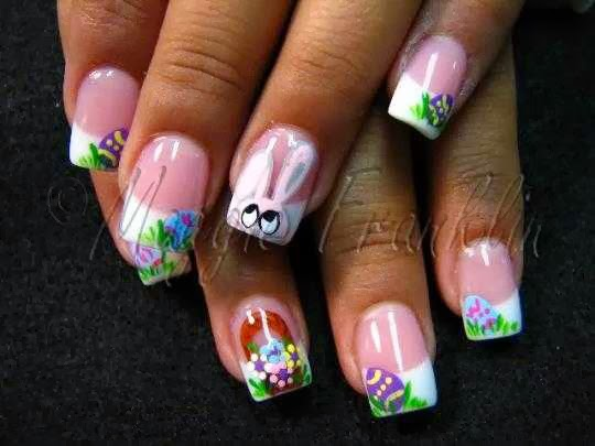 Easternailart_1 Nail Designs For Easter