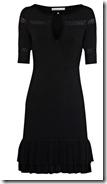 Karen Millen Black Knit Dress