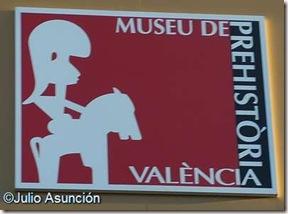Cartel Museo de Prehistoria de Valencia