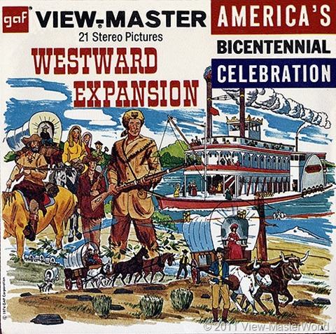 View-Master Westward Expansion (B812), Packet Cover
